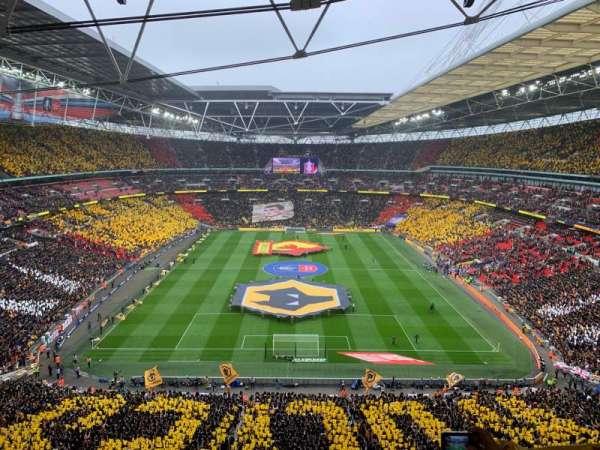 Wembley Stadium, vak: 514, rij: 17, stoel: 1