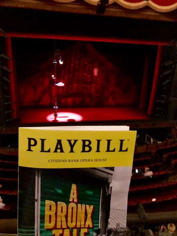Boston Opera House, vak: DRESS CIRCLE, rij: Aa, stoel: 01