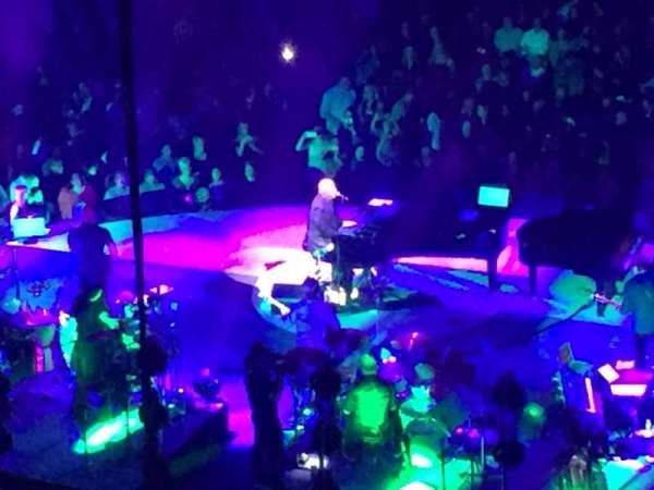 Madison Square Garden, vak: 218, rij: BS6, stoel: 22