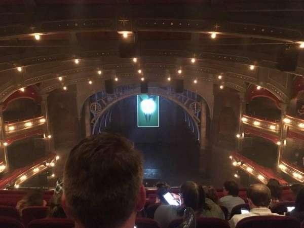 Lyric Theatre, vak: Balcony C, rij: D, stoel: 112