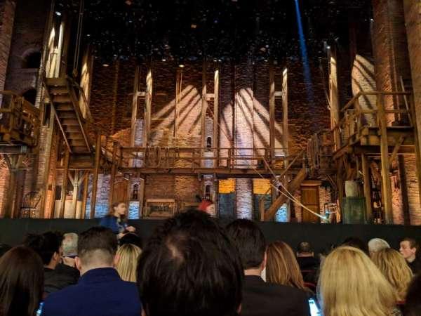 CIBC Theatre, vak: Orchestra c, rij: G, stoel: 107