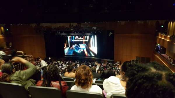 The Theater at MGM National Harbor, vak: 302, rij: L, stoel: 14