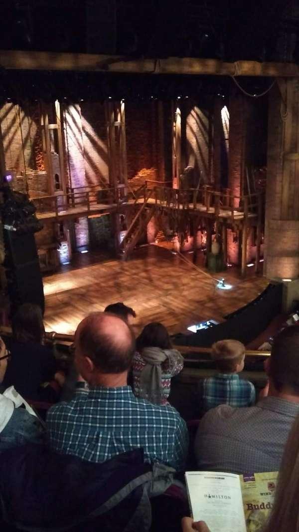 CIBC Theatre, vak: Mezzanine L, rij: D, stoel: 13