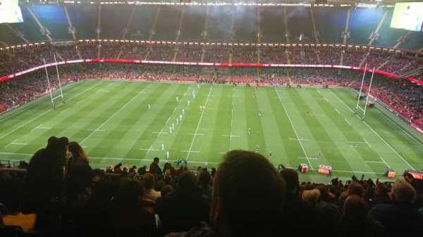 Principality Stadium, vak: U8, rij: 33, stoel: 07