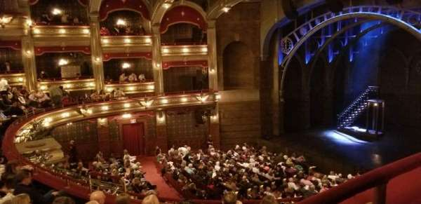 Lyric Theatre, vak: Dress Circle, rij: Box C, stoel: Seat 4 (2,3,4)