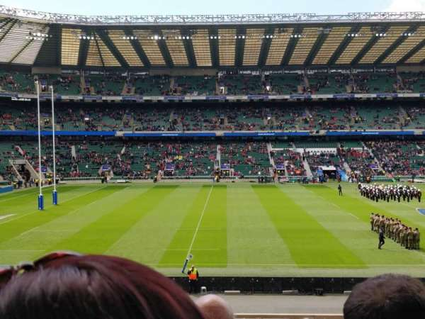 Twickenham Stadium, vak: L27, rij: 33, stoel: 262