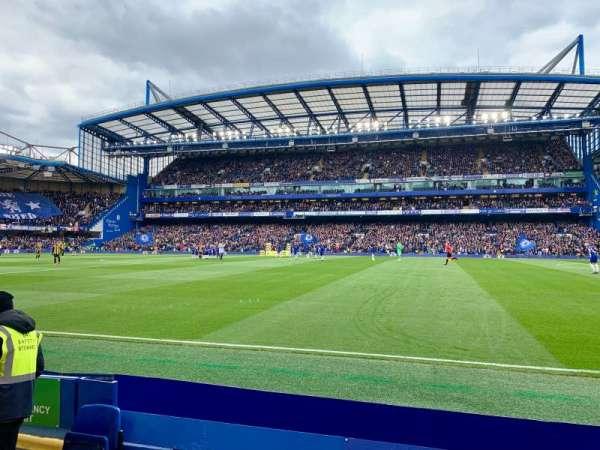 Stamford Bridge, vak: East Lower North Family (Block6), rij: E, stoel: 147