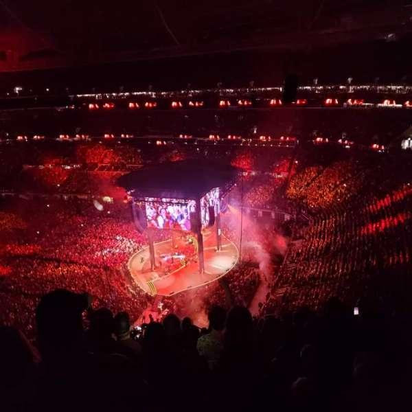 U.S. Bank Stadium, vak: 306, rij: 17, stoel: 11