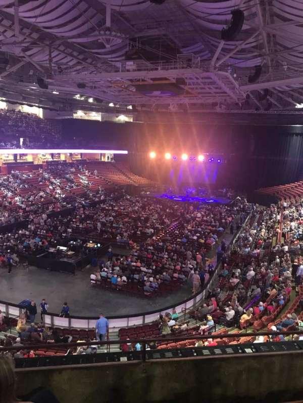 Bon Secours Wellness Arena, vak: 231, rij: C, stoel: 3
