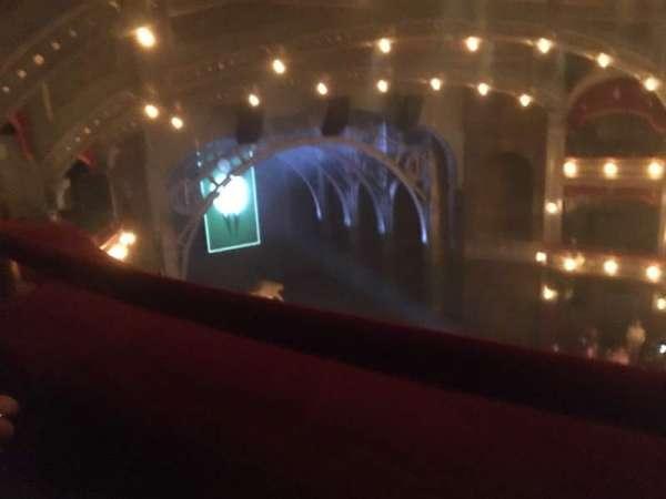 Lyric Theatre, vak: Balcony L, rij: A, stoel: 25