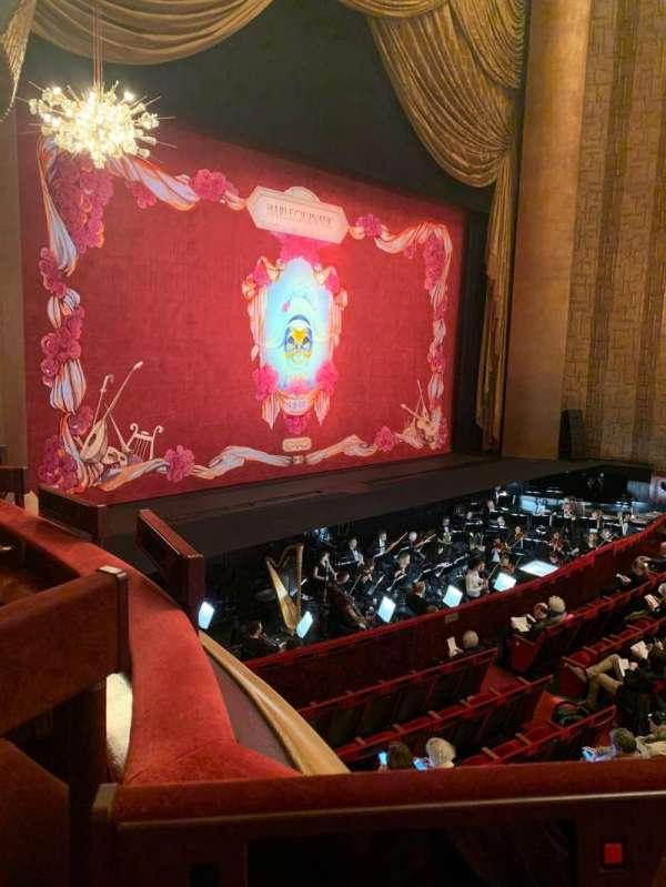 Metropolitan Opera House - Lincoln Center, vak: Parterre, rij: 5, stoel: 3