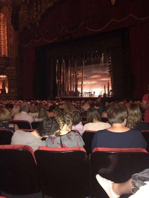 The Fabulous Fox Theatre (St. Louis), vak: Orchestra 5, rij: S, stoel: 18