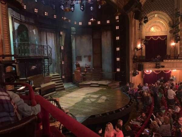 Walter Kerr Theatre, vak: Box B, stoel: 7