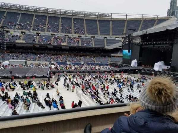 Soldier Field, vak: 207, rij: 2, stoel: 2