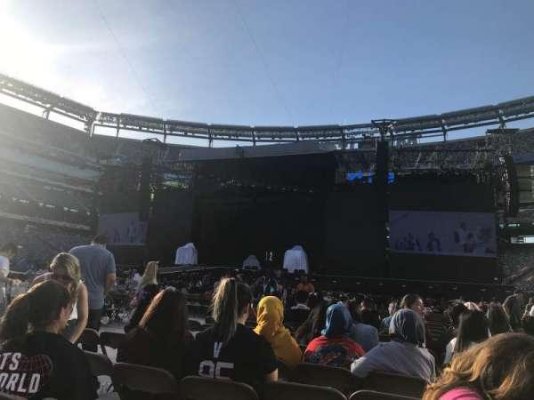 MetLife Stadium, vak: 7, rij: 13, stoel: 8