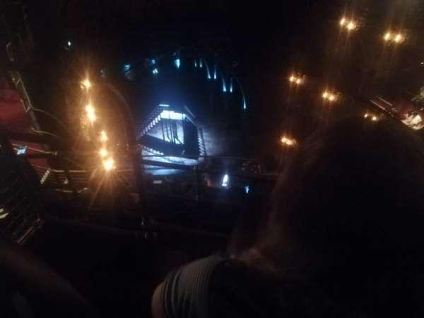 Palace Theatre (West End), vak: Balcony, rij: F, stoel: 27