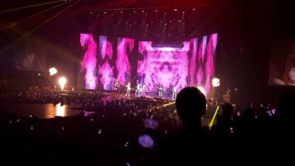 Manchester Arena, vak: 113, rij: H, stoel: 22
