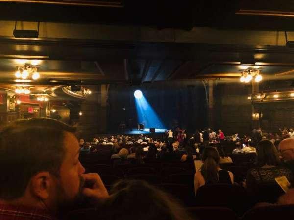 Lyric Theatre, vak: Orchestra, rij: Y, stoel: 27