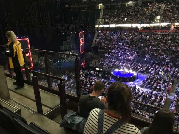 Manchester Arena, vak: 204, rij: c, stoel: 5
