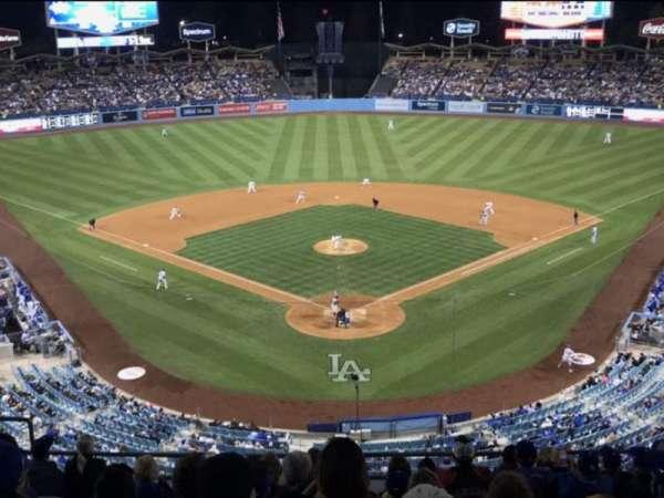 Dodger Stadium, vak: 1RS, rij: K , stoel: 11
