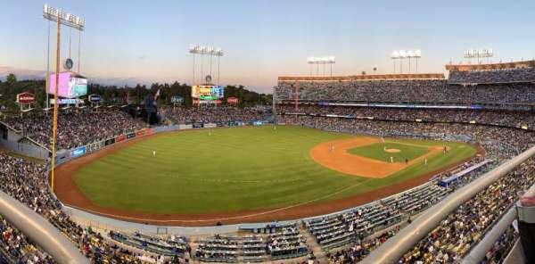 Dodger Stadium, vak: 35RS, rij: A, stoel: 16