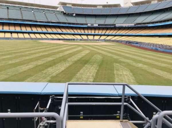 Dodger Stadium, vak: 305PL, rij: C, stoel: 1