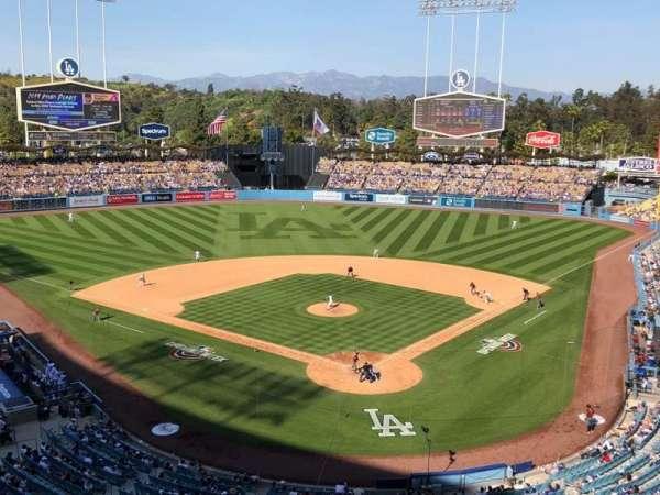 Dodger Stadium, vak: 3RS, rij: C, stoel: 11