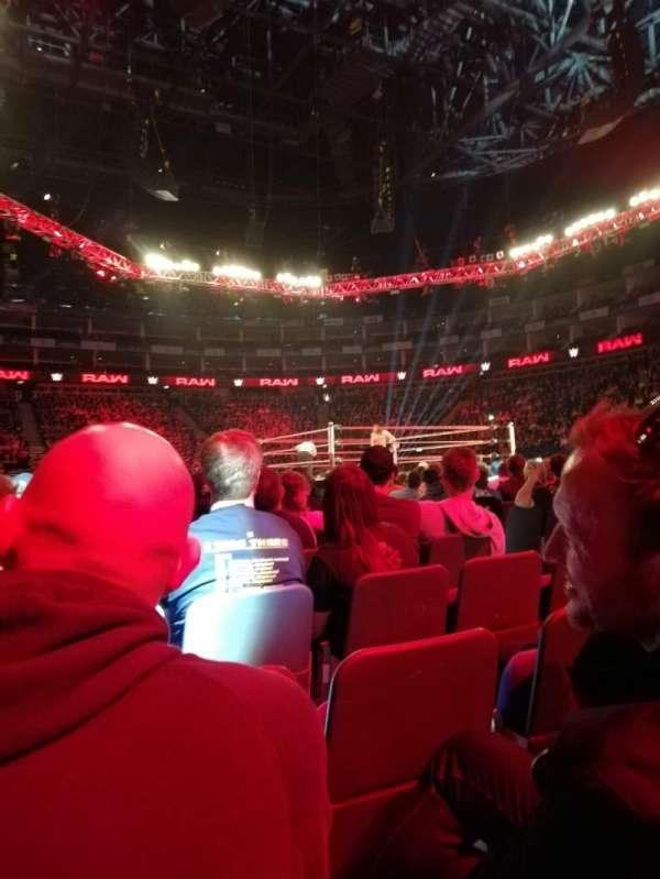 The O2 Arena, vak: C2, rij: N, stoel: 19