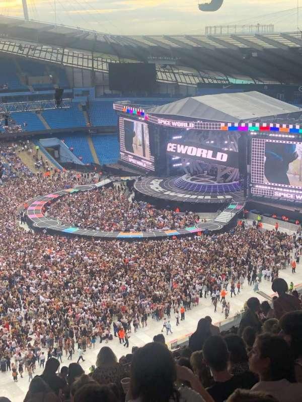 Etihad Stadium (Manchester), vak: 307, rij: As, stoel: 199