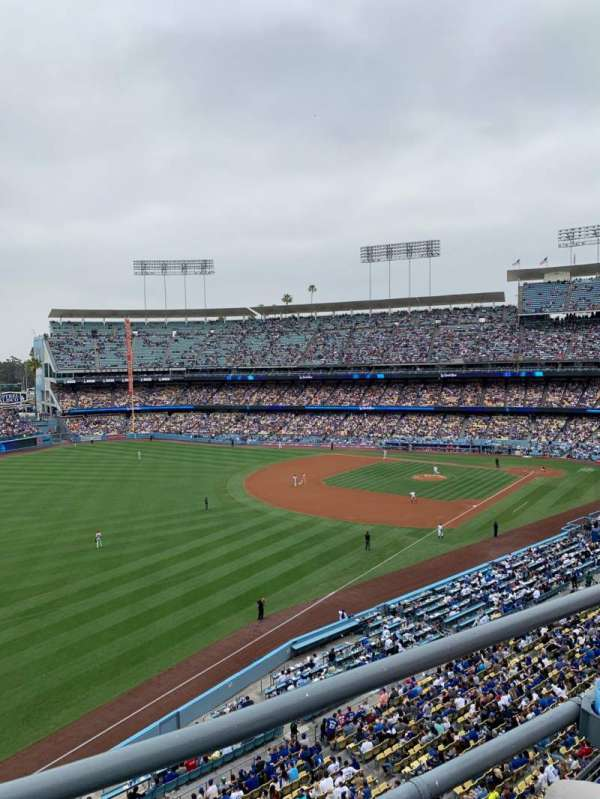 Dodger Stadium, vak: 43RS, rij: B, stoel: 16