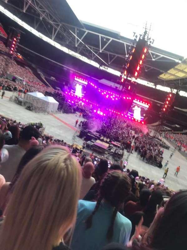 Wembley Stadium, vak: 110, rij: 28, stoel: 2