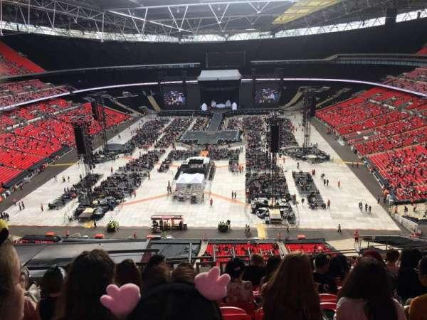 Wembley Stadium, vak: 513, rij: 23, stoel: 378