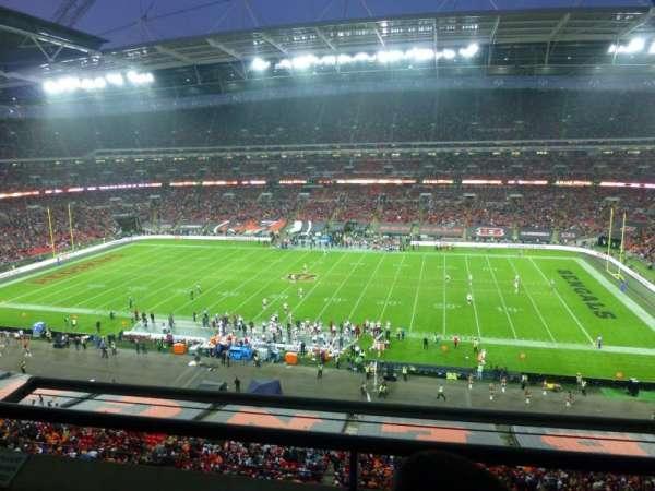 Wembley Stadium, vak: 525, rij: 2, stoel: 337