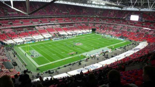 Wembley Stadium, vak: 532, rij: 31, stoel: 163