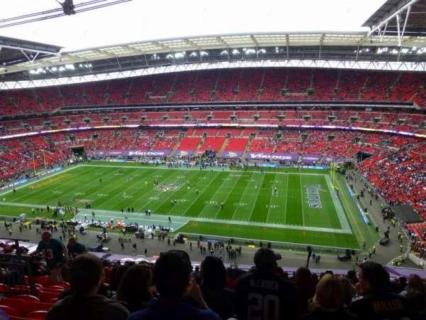 Wembley Stadium, vak: 524, rij: 19, stoel: 309