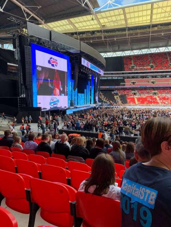 Wembley Stadium, vak: 126, rij: 20, stoel: 88