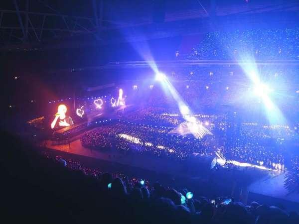 Wembley Stadium, vak: 524, rij: 27, stoel: 326