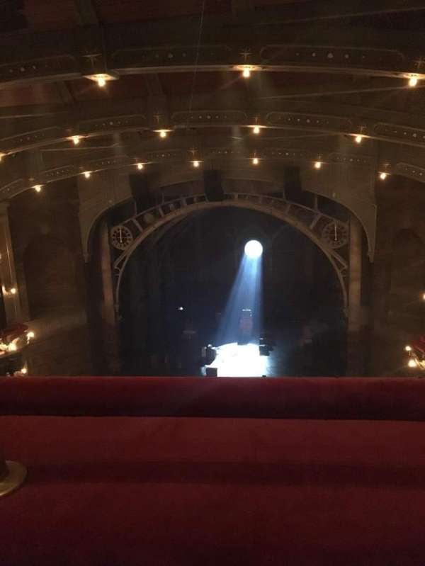 Lyric Theatre, vak: Balcony, rij: A, stoel: 117