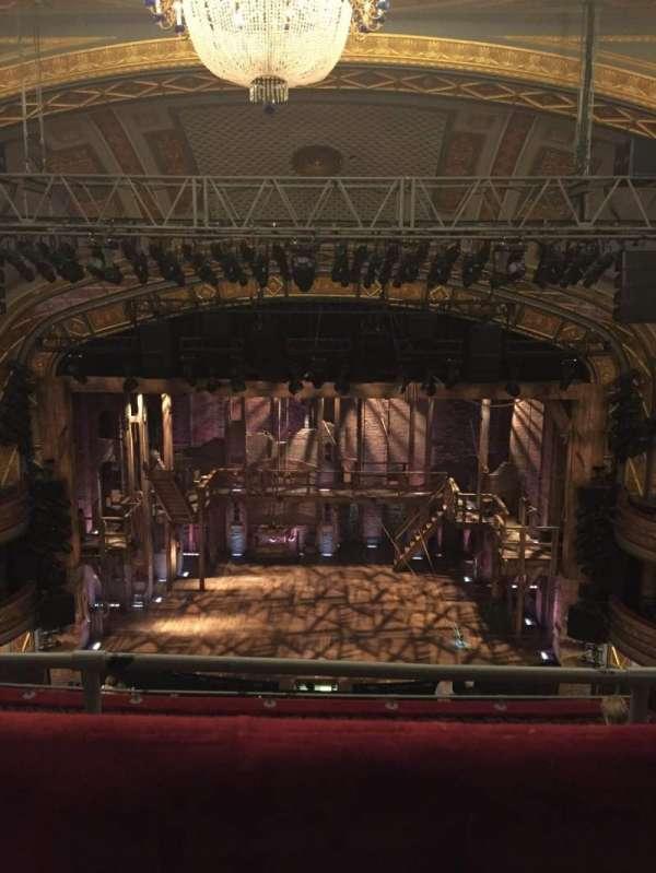 Richard Rodgers Theatre, vak: RMEZZ, rij: G, stoel: 105