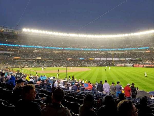 Yankee Stadium, vak: 109, rij: 20, stoel: 13