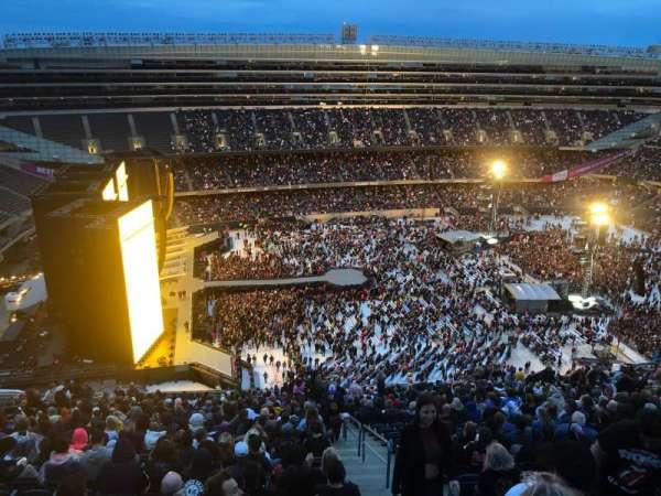Soldier Field, vak: 441, rij: 32, stoel: 22