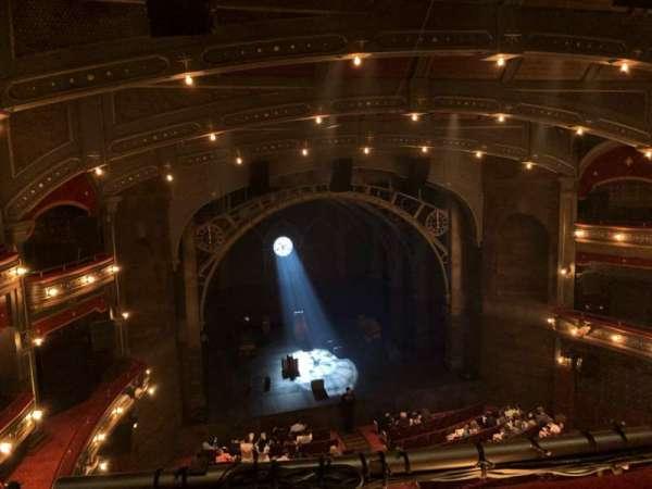 Lyric Theatre, vak: Balc L, rij: A, stoel: 3