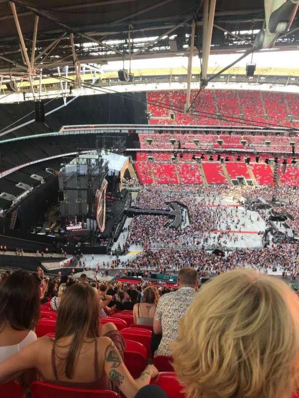 Wembley Stadium, vak: 529, rij: 41, stoel: 83