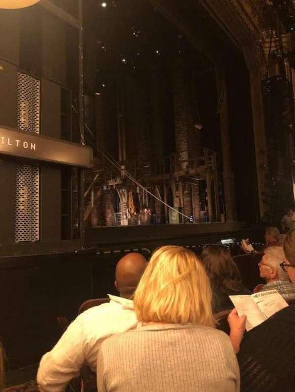 Hippodrome Theatre, vak: LORCLV, rij: E, stoel: 13-15