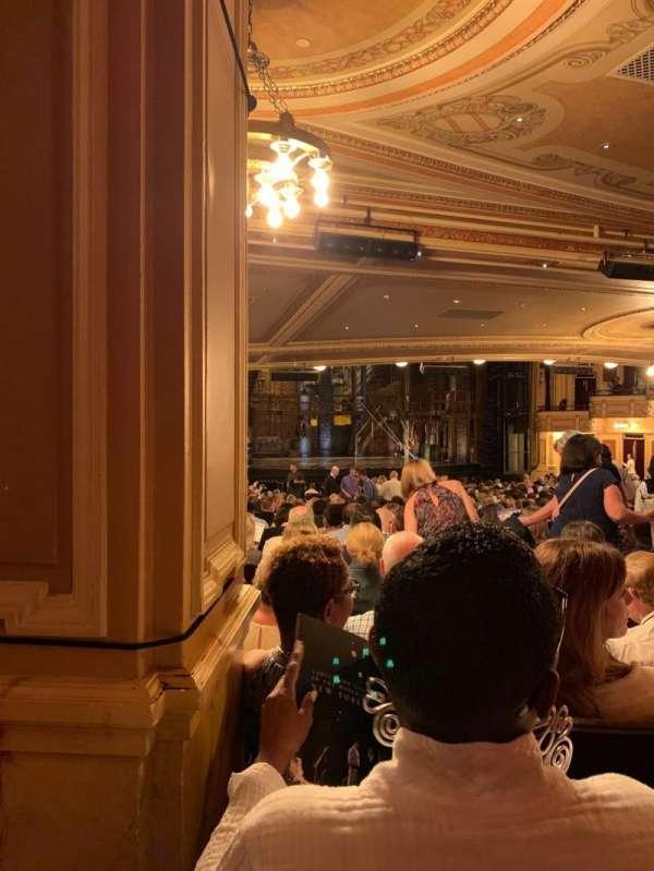 Hippodrome Theatre, vak: Left OrchestraLV, rij: FF, stoel: 9