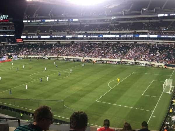Lincoln Financial Field, vak: C26, rij: 12, stoel: 17