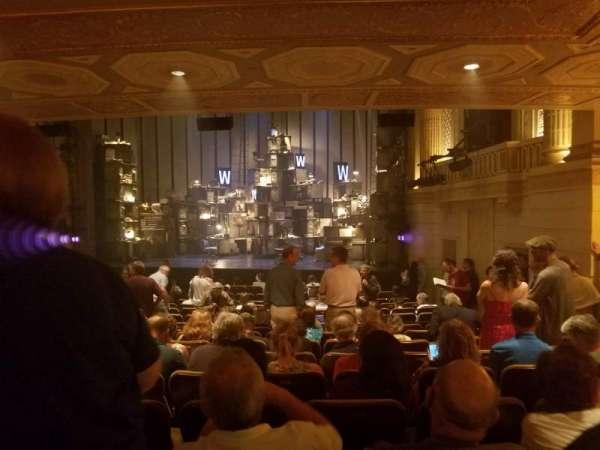 Samuel J. Friedman Theatre, vak: Orchestra R, rij: P, stoel: 120