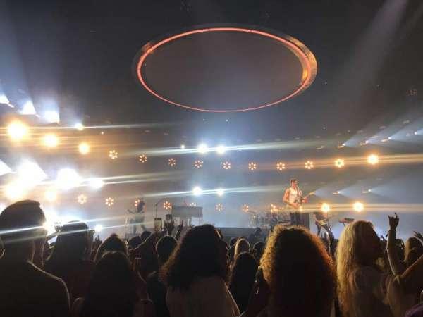 Staples Center, vak: floor 4, rij: 1, stoel: 1