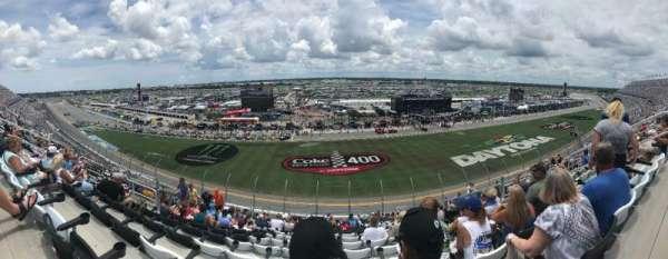 Daytona International Speedway, vak: 345, rij: 20, stoel: 11-12
