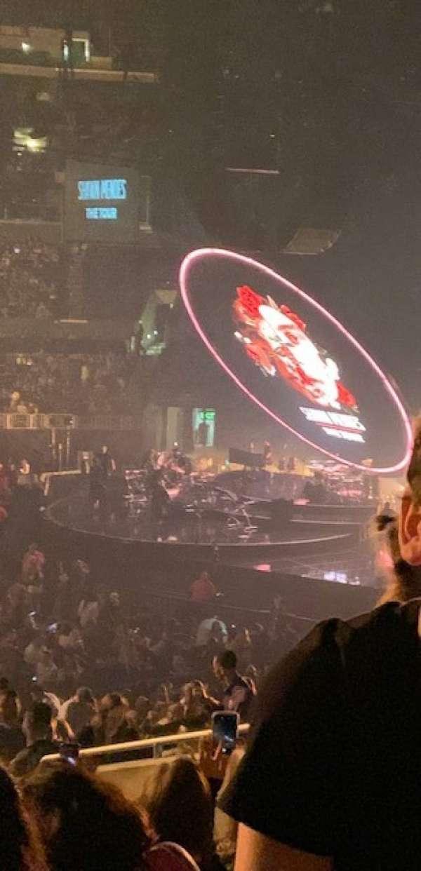 Staples Center, vak: PR05, rij: 9, stoel: 7-8